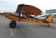 N7576D @ LHD - 1957 Piper PA-18A 150, c/n: 18-5863 at Lake Hood