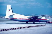 LN-SUL @ LMML - F27 LN-SUL of Air Executive in Malta back in 1980. - by raymond