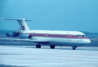 G-AXBB @ LMML - Air UK BAC111 G-AXBB taxing to the Apron in Malta back in 1980. - by raymond