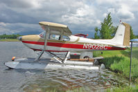 N9028C @ LHD - 1954 Cessna 180, c/n: 31076 at Lake Hood