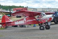 N94907 @ LHD - 1946 Taylorcraft BC12-D, c/n: 9307 at Lake Hood