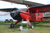 N79458 @ LHD - 1944 Stinson V77, c/n: 77-36 at the Alaska Aviation Heritage Museum at Lake Hood