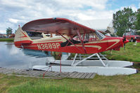 N3689P @ LHD - 1955 Piper PA-18A 150, c/n: 18-4590