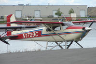 N1729C @ LHD - 1953 Cessna 180, c/n: 30429 at Lake Hood