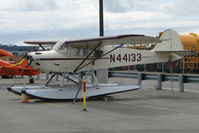 N44133 @ LHD - 1946 Taylorcraft BC12-D, c/n: 9933 at Lake Hood
