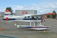 N5347G @ LHD - Dehavilland BEAVER DHC-2 MK.1, c/n: 762 at Lake Hood