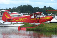 N8655C @ LHD - 1953 Piper PA-18-135, c/n: 18-2787 at Lake Hood