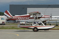 N4336Z @ LHD - 1968 Piper PA-18-150, c/n: 18-8654 at Lake Hood
