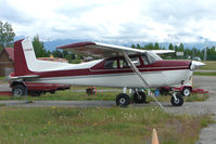 N7084M @ LHD - 1958 Cessna 175, c/n: 55384 at Lake Hood