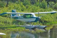 N8803 - 1973 Bellanca 7GCBC, c/n: 472-73 on a lake near Talkeetna AK