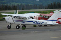 N3927L @ HOM - 1966 Cessna 172G, c/n: 17254096 at Homer AK