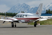 N15PR @ HOM - 1983 Piper PA-31-350, c/n: 31-8352011 at Homer AK