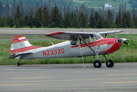 N2332D @ HOM - 1952 Cessna 170B, c/n: 20484 at Homer AK
