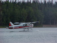 N1432Z @ 2R3 - Summit Leasing/Alaska West Air, Dehavilland BEAVER U-6A departing Island Lake (2R3). - by Mark Kalfas