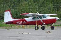 N2791G @ PAAQ - 1959 Cessna 182B, c/n: 52091 at Palmer