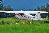N9958A @ PAAQ - 1950 Cessna 170A, c/n: 19318 at Palmer
