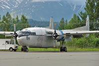 N8501W @ PAAQ - 1952 Fairchild C-119, c/n: 10880