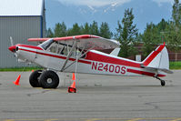 N2400S @ PAAQ - Piper PA-18-150, c/n: 18-7909144 at Palmer