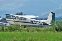 N4058D @ PAAQ - 1957 Cessna 182A, c/n: 34758 at Palmer