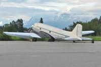 N305SF @ PAAQ - 1944 Douglas DC3C, c/n: 6208 at Palmer