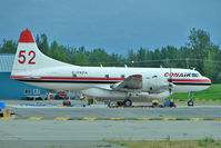 C-FKFA @ PAAQ - 1953 Convair 340, c/n: 100 at Palmer AK