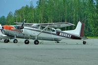 N9964X @ PAAQ - 1961 Cessna 185, c/n: 185-0164 at Palmer