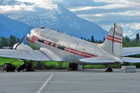 N50CM @ PAAQ - DC-3 at Palmer