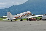 N777YA @ PAAQ - 1944 Douglas DC3C, c/n: 25634 at Palmer