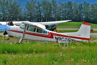 N9966N @ PAAQ - 1975 Cessna 180J, c/n: 18052621 at Palmer