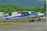 N1742D @ PABV - 1951 Cessna 170A, c/n: 20185 at Birchwood