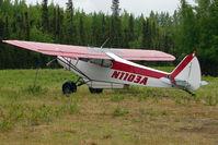 N1103A @ L85 - 1951 Piper PA-18-125, c/n: 18-691 at Mackey Lake landstrip - by Terry Fletcher