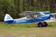 N8086D @ L85 - 1957 Piper PA-18A 150, c/n: 18-6079 at Mackey Lake landstrip