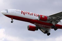 VT-VJK @ EGLL - Kingfisher Airlines - by Chris Hall