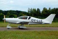 OY-LLE @ EGBP - Aero Designs Pulsar XP [96/03/474] Kemble~G 11/07/2004. Taxiing out for departure from PFA 2004