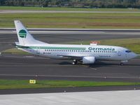D-ADII @ EDDL - Germania, Boeing 737-329, CN: 23755/1412 - by Air-Micha