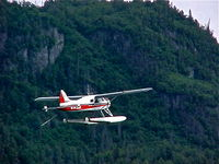 N1432Z @ 2R3 - Summit Leasing/Alaska West Air, Dehavilland BEAVER U-6A en-route to  Island Lake (2R3) from Wolverine Creek. - by Mark Kalfas