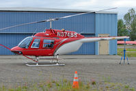 N37488 @ LHD - 1977 Bell 206B, c/n: 2188 at Lake Hood