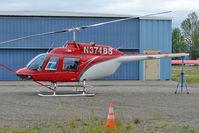 N37488 @ LHD - 1977 Bell 206B, c/n: 2188 at Lake Hood