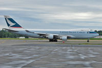B-LIB @ PANC - Cathay Cargo 2008 Boeing 747-467ERF, c/n: 36867 at Anchorage