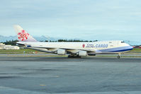 B-18705 @ PANC - China Airlines Cargo Boeing 747-409F (SCD), c/n: 30762 at Anchorage