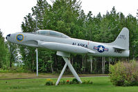 52-9772 @ PAEN - Lockheed T-33 - Gate Guard at Kenai Municipal - by Terry Fletcher