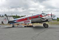 N9210 @ PAEN - 1959 Beech G18S, c/n: BA-472 of Air Supply Alaska at Kenai