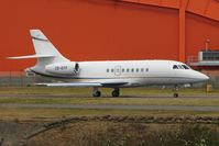 CS-DTF @ EGGW - Falcon 2000EX at Luton - by Terry Fletcher
