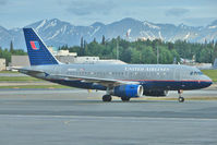 N850UA @ PANC - 2002 Airbus A319-131, c/n: 1653 of United at Anchorage