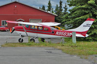 N9563G @ PAEN - 1972 Cessna TU206F, c/n: U20601763 at Kenai Municipal - by Terry Fletcher
