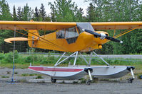 N201PW - 2007 Underwood Reo L SMITH AVN PA-18 SUPE, c/n: 04-091 at Anchor Point Alaska