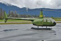 N557AC @ PAWD - 2006 Robinson Helicopter Company R44 II, c/n: 11387 at Seward