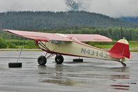 N43143 @ PAWD - 1946 Taylorcraft BC12-D, c/n: 6802 at Seward