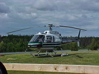 N352EV @ PASX - Evergreen Eurocopter AS 350 B2, N352EV at a pad north of PASX.