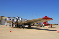 N5017N @ KCID - Displayed on the PS Air Ramp - by Glenn E. Chatfield